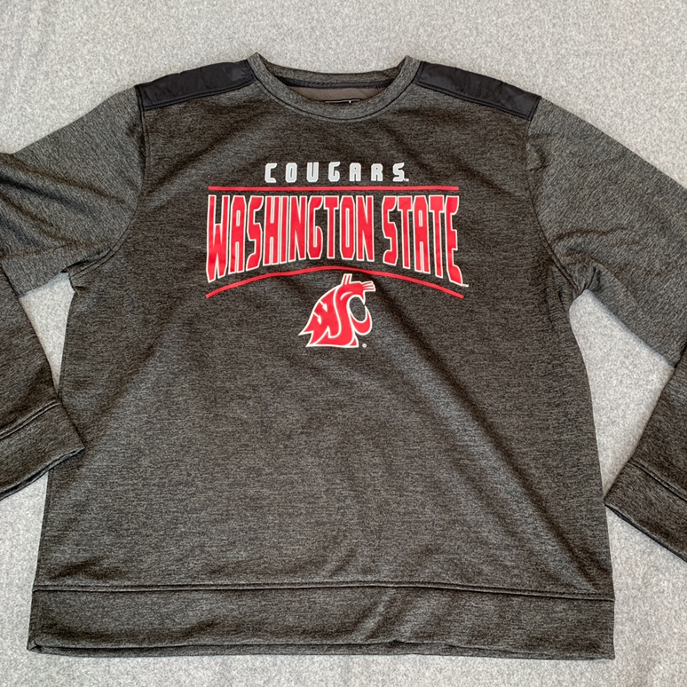 NWT Mens WSU cougars large crew neck
