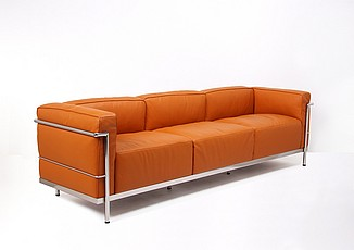Corbusier Style: Grande Feather Relaxed Sofa