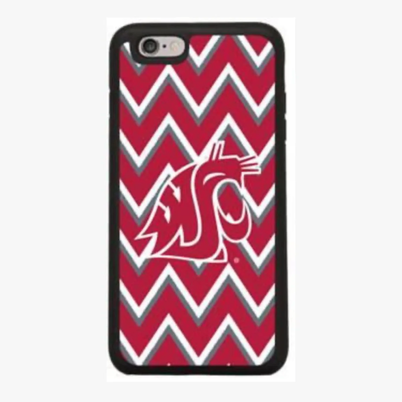 NWT IPhone 7+/8+ WSU Cougars Chevron Phon case