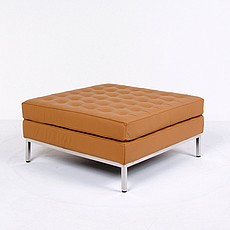 Florence Knoll Style: Large Square Ottoman