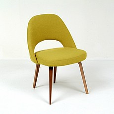 Saarinen Style: M72 Executive Side Chair - Chartreuse Green
