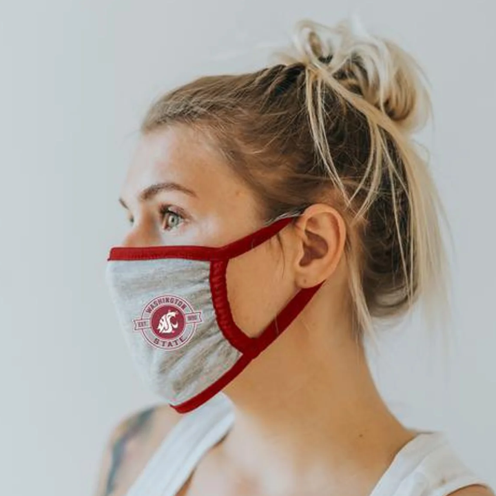Cotton WSU Face Mask
