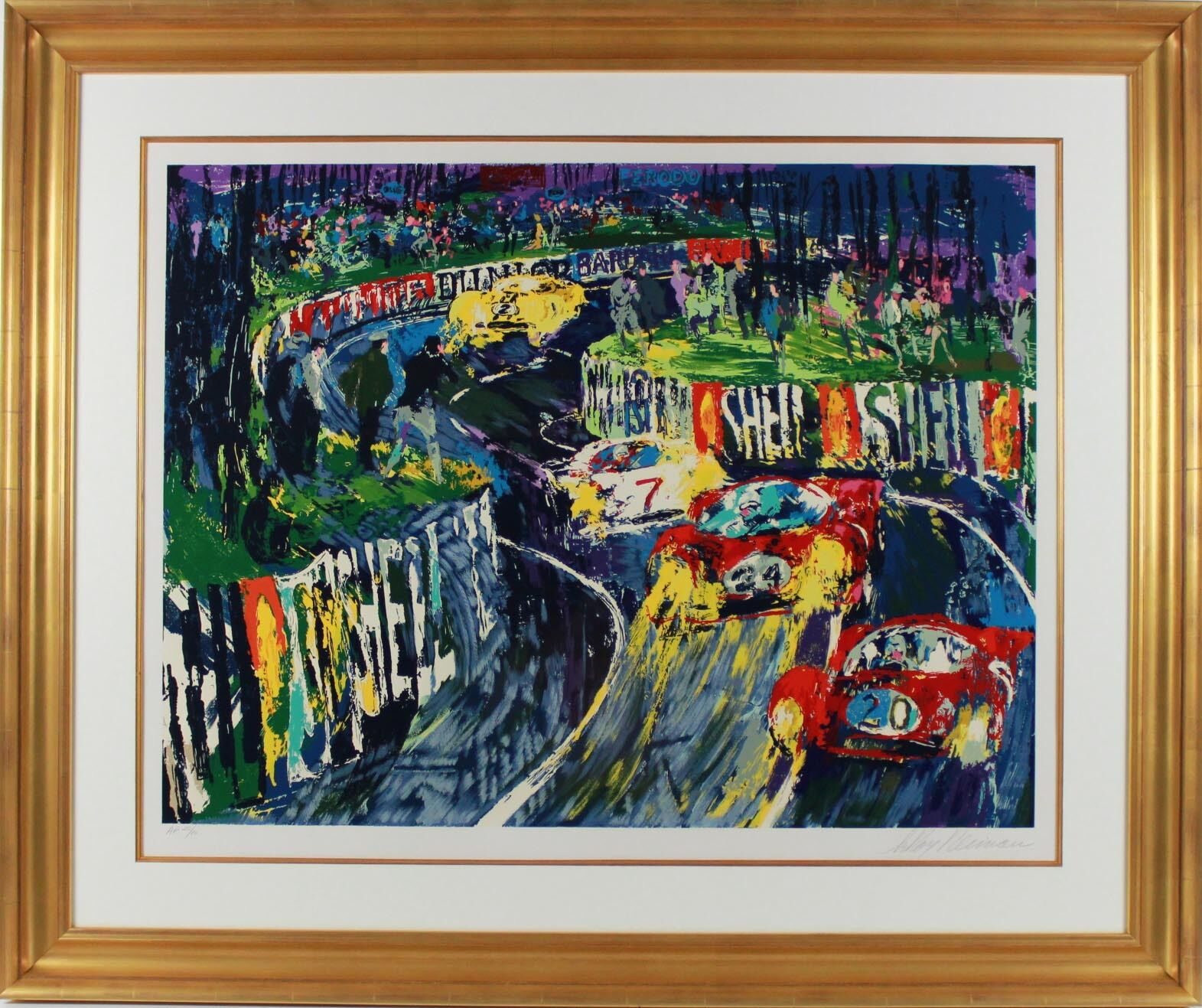 Painting - 24 Hours at LeMans by LeRoy Neiman