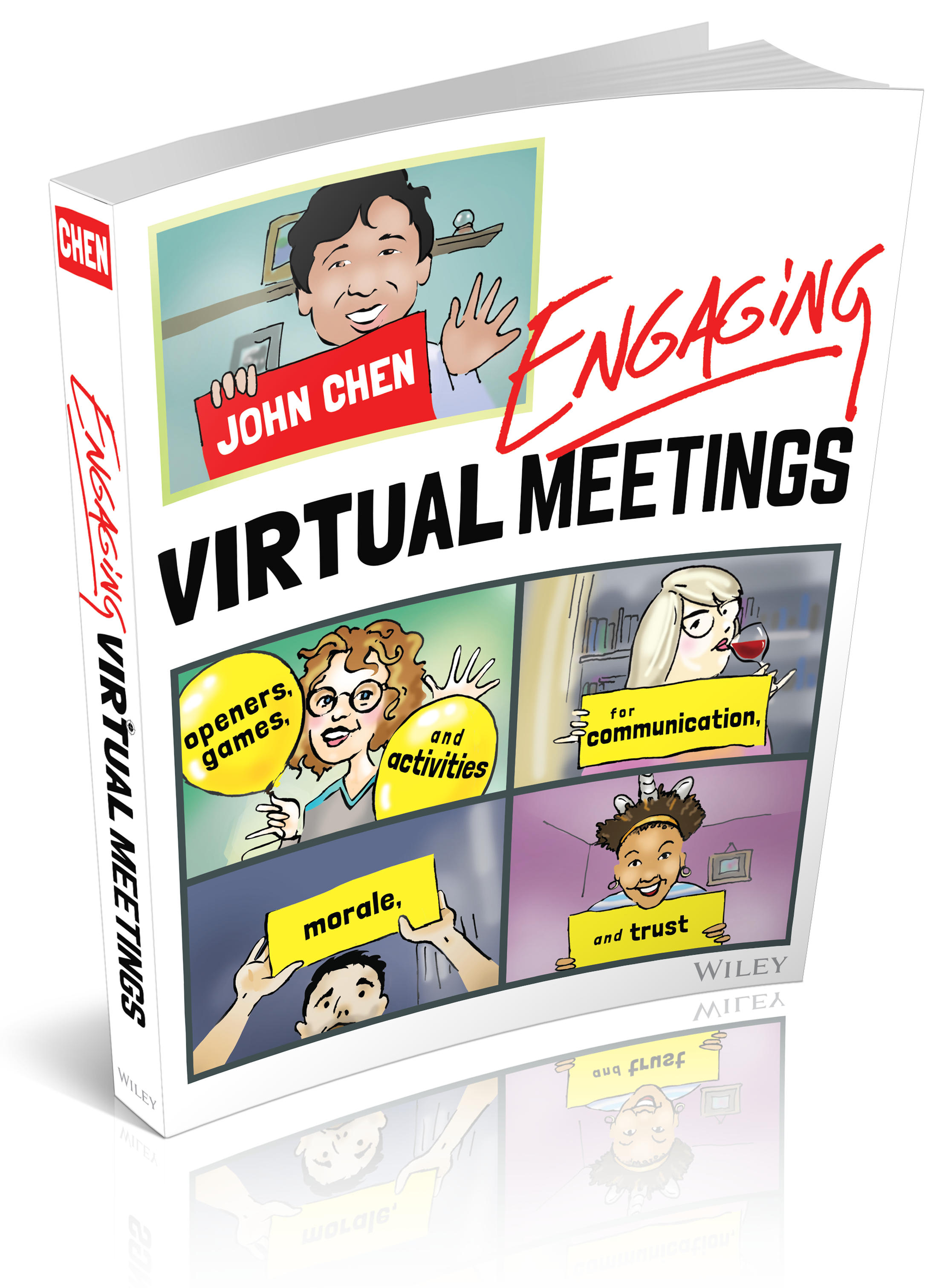 Engaging Virtual Meetings Book