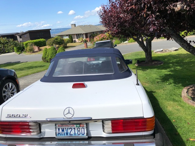 1987 Mercedes-Benz 560 SL Roadster