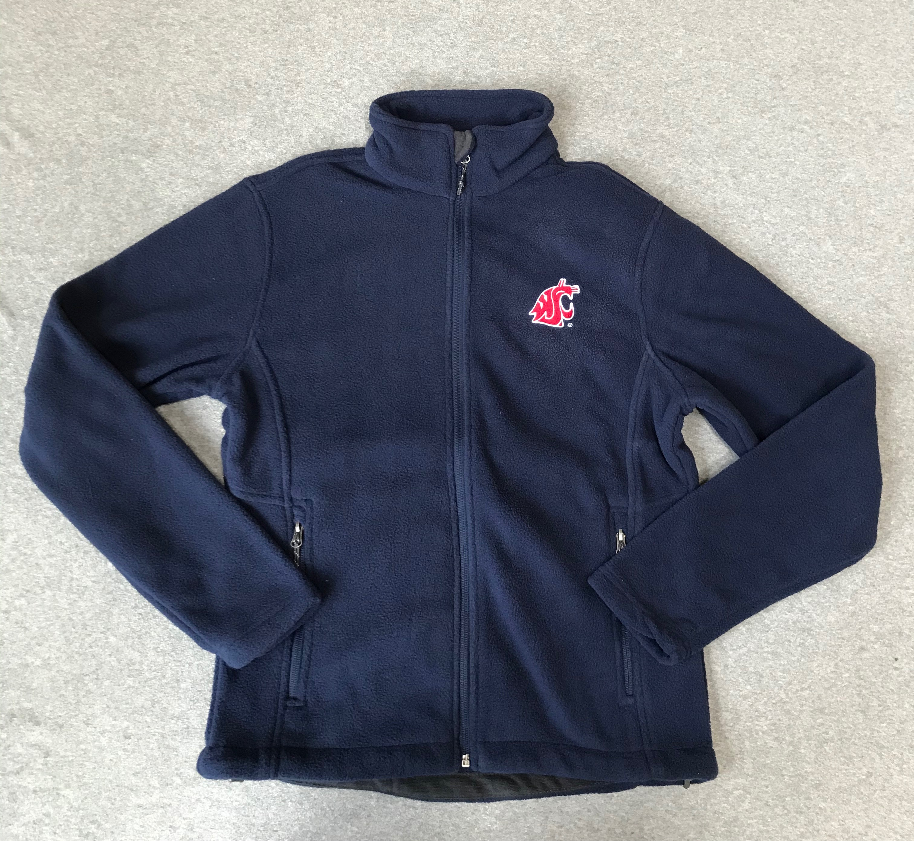 NWT XS Navy Blue WSU Cougars Embroidered fleece