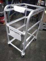Aluminum Triple Lug Cart