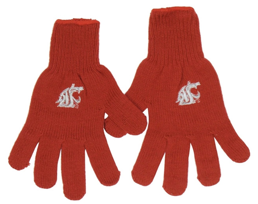 NWT WSU Cougars Knit Embroidered Glices