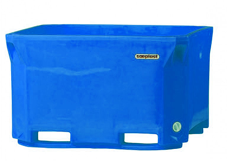 DMPC660 Triple Wall Bulk Container ‑ Sky Blue