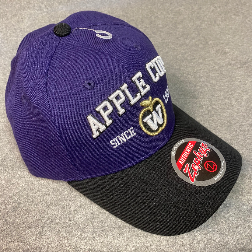 NWT UW Apple Cup adjustable hat