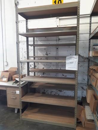 96x48x18 Metal Shelving Unit