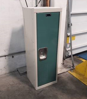 Double Sided Metal Locker