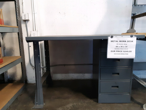 Metal Work Desk