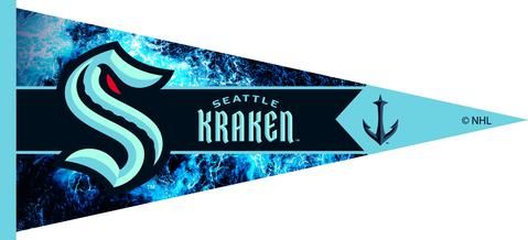 SEATTLE KRAKEN PENNANT