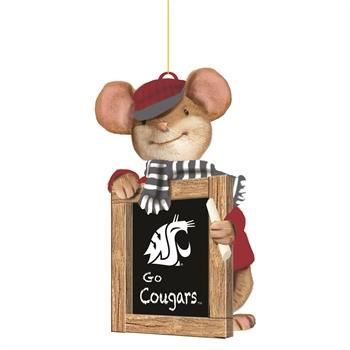 Washington State University, Holiday Mouse Ornament