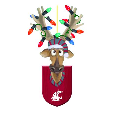WSU REINDEER TEAM ORNAMENT