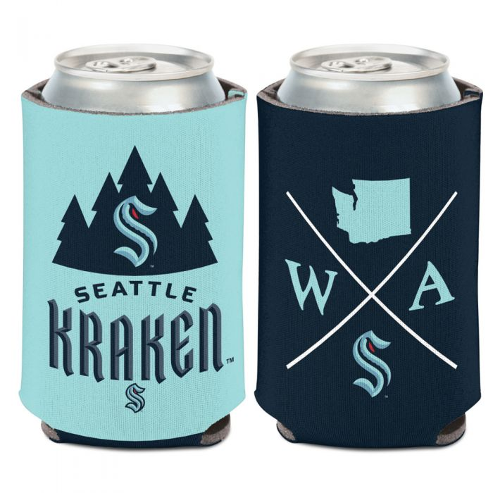 SEATTLE KRAKEN CAN COOLER 12 OZ