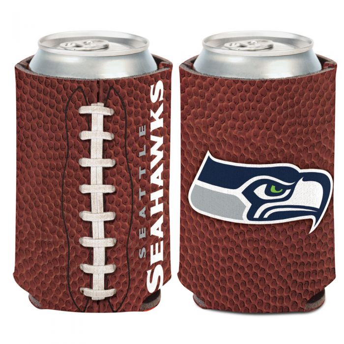 SEATTLE SEAHAWKS FOOTBALL CAN COOLER FOOTBALL