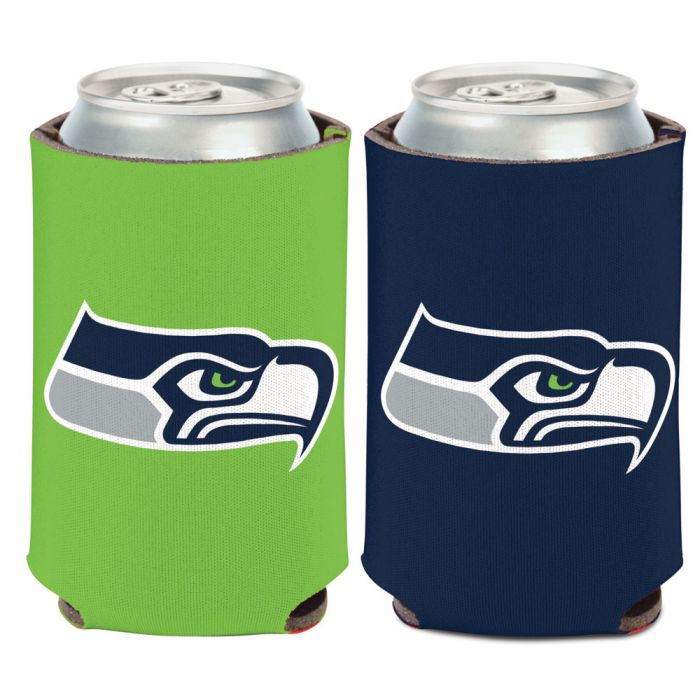 SEATTLE SEAHAWKS LOGO CAN COOLER 12 OZ