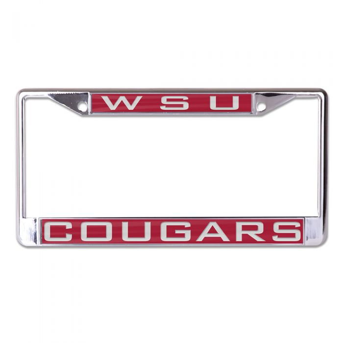 WASHINGTON STATE COUGARS LIC PLT FRAME