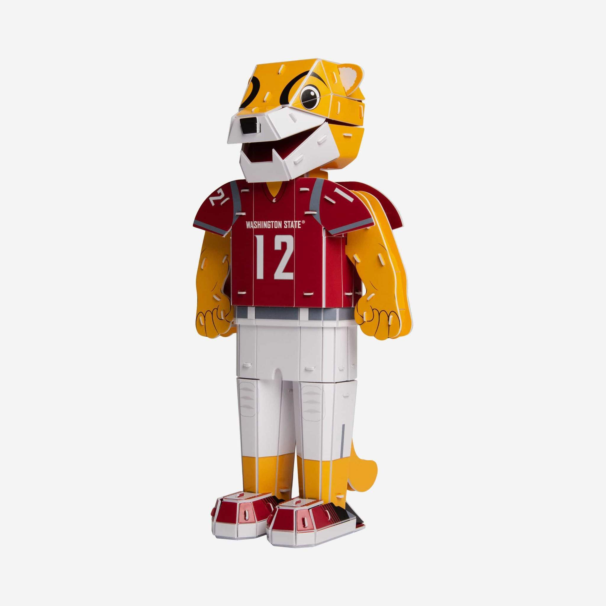 WASHINGTON STATE COUGARS NCAA 3D MODEL BUTCH T COUGAR