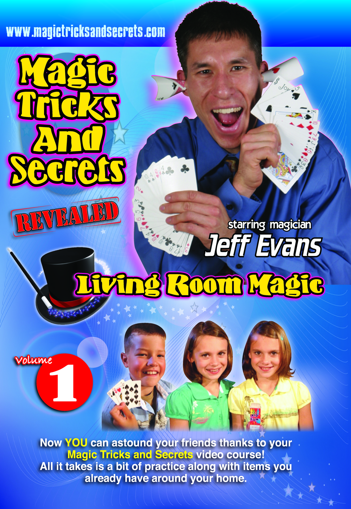 Magic Tricks and Secrets DVDs - quantity 5