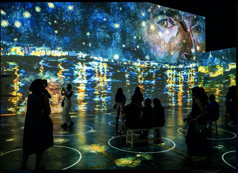 Immersive Van Gogh Exhibit - San Francisco