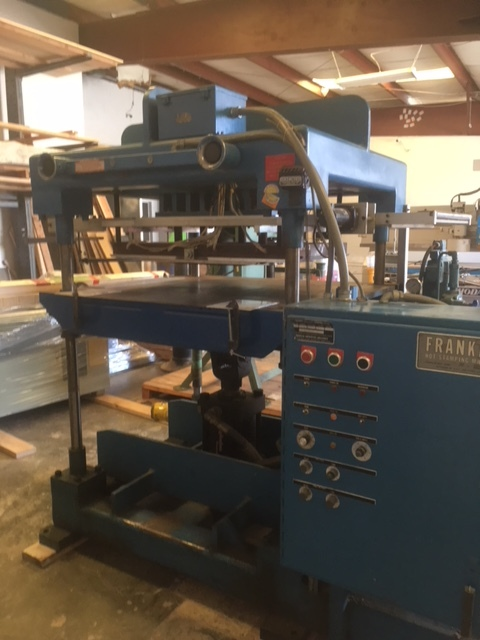Franklin 50 Ton Hot Stamping Press