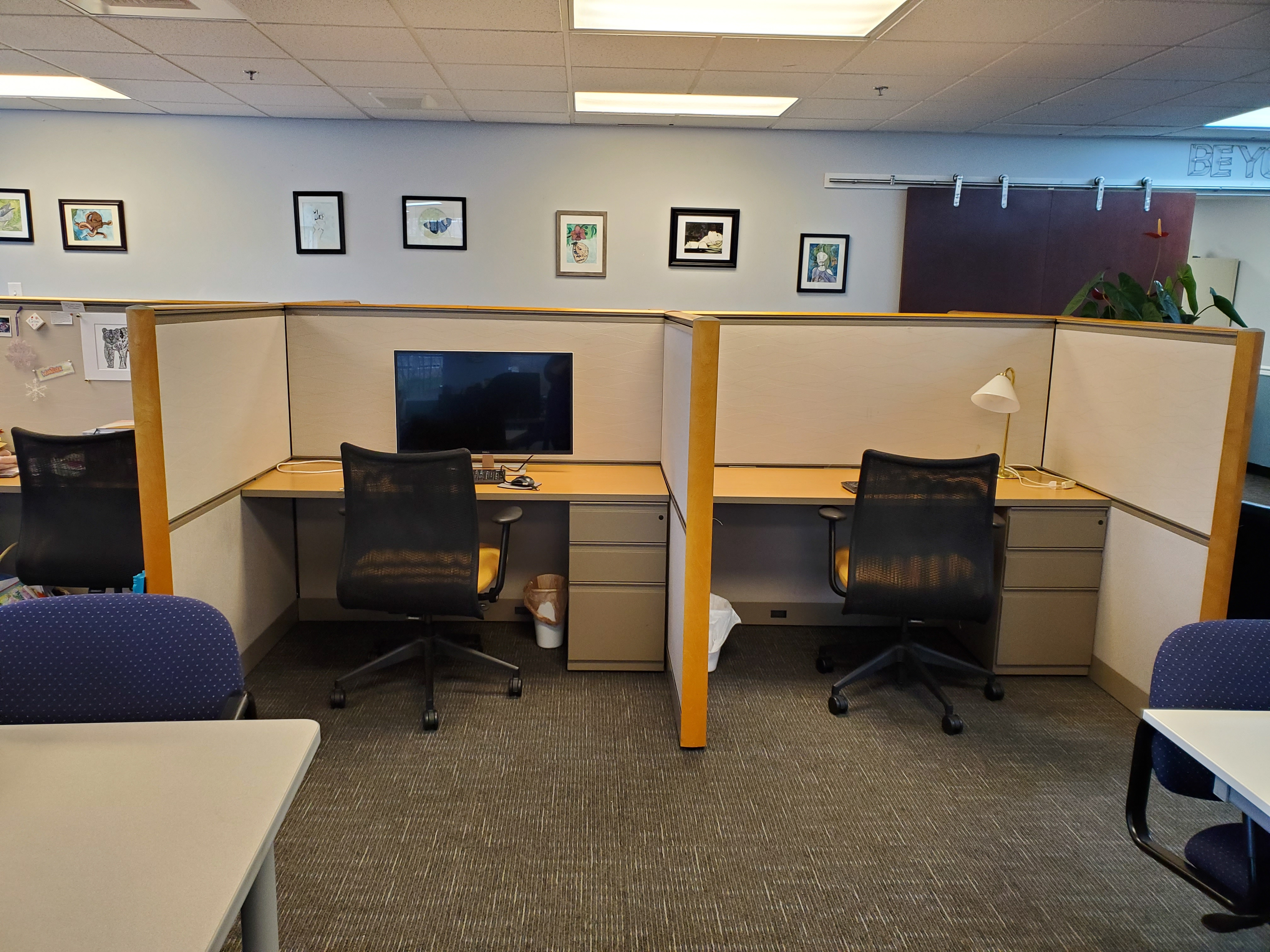 Cubicle rental