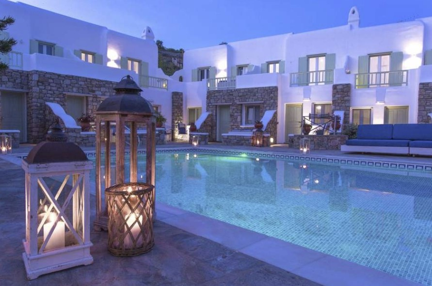 Bellissimo Resort, Mykonos Greece - Double Standard Room for 2 People - Various Dates