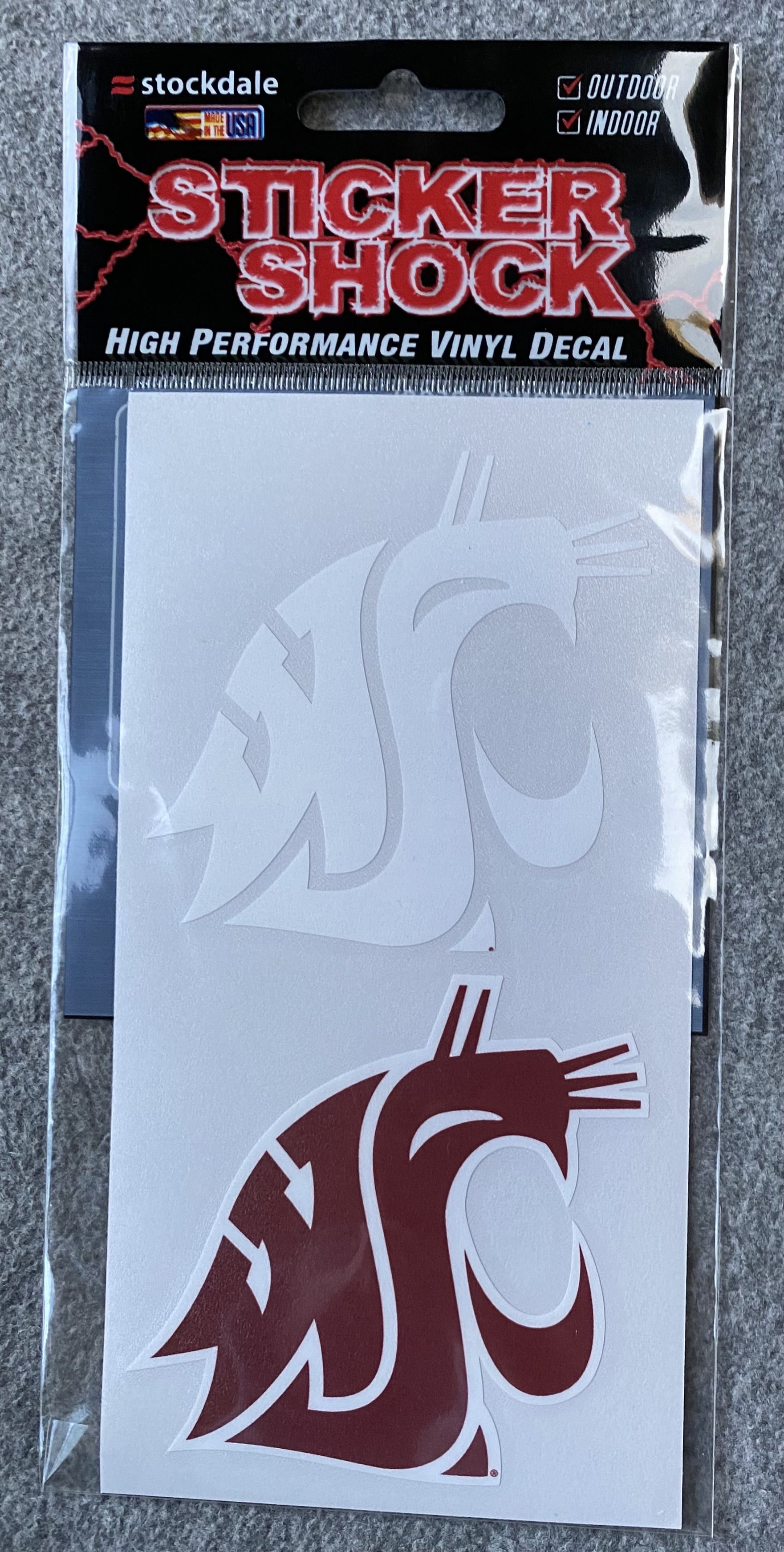 Two Pack Coug Logo Decals