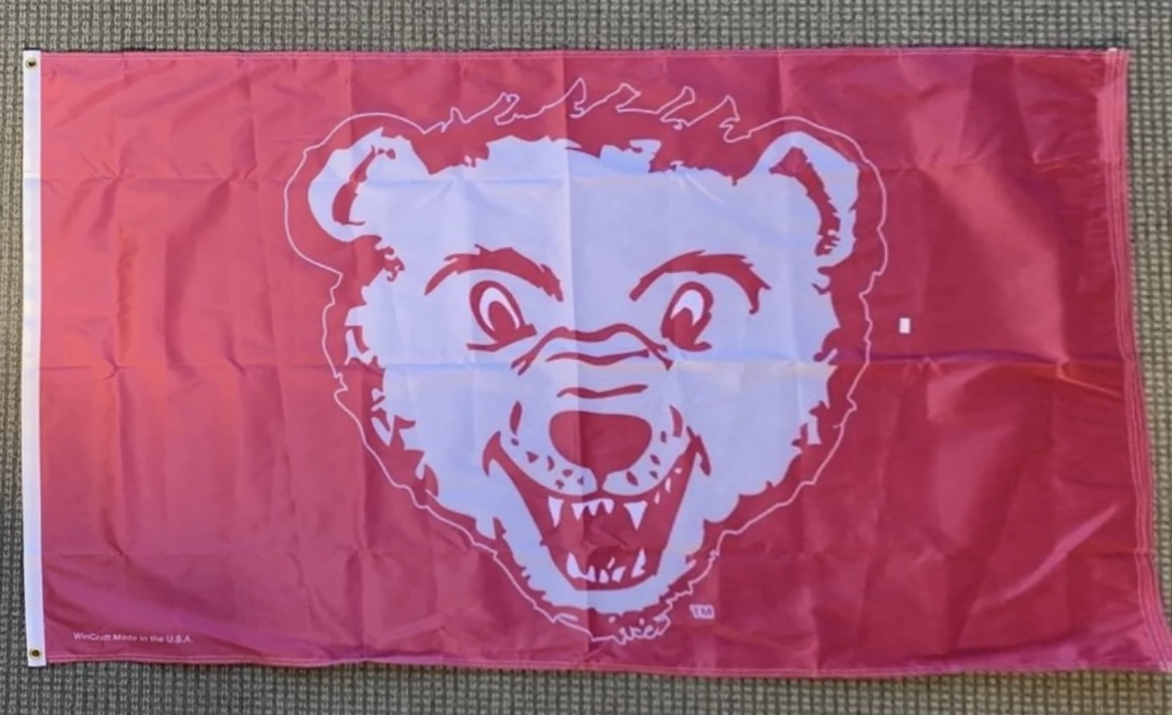 RETRO MONTANA GRIZZLIES 3X5 FLAG