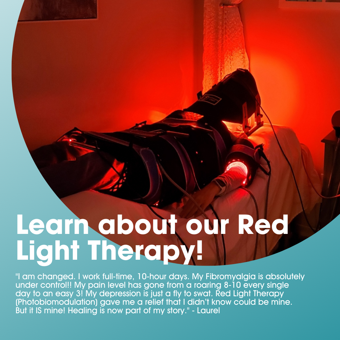 10 Sessions of Red Light Therapy