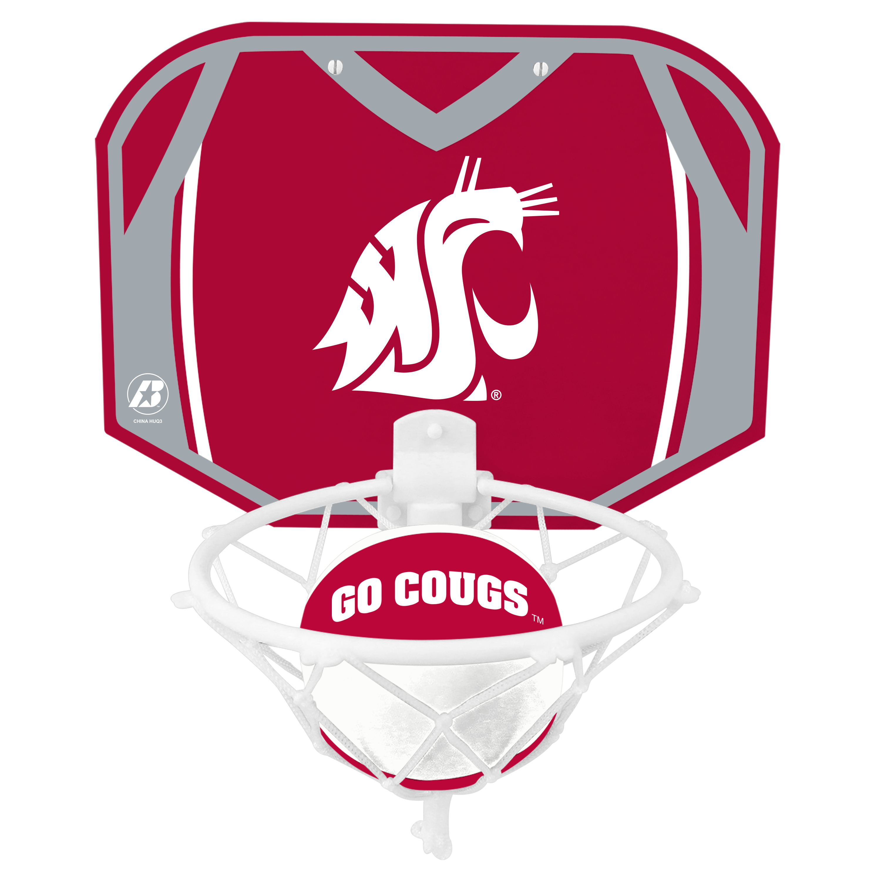 WSU Mini Basketball Set