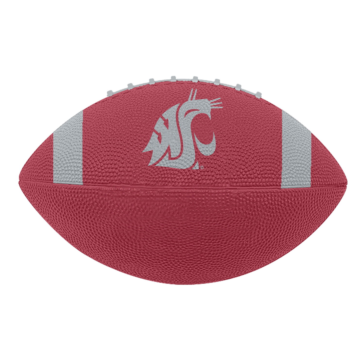 Full Size Rubber WSU Football