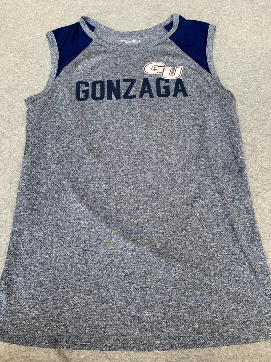 Men's Medium Gonzaga Bulldogs Workout Tank