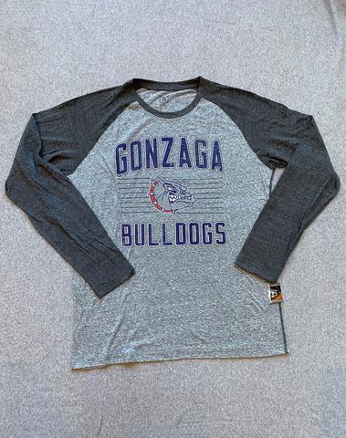 Men's Long Sleeve XL Grey Gonzaga Bulldogs Tee