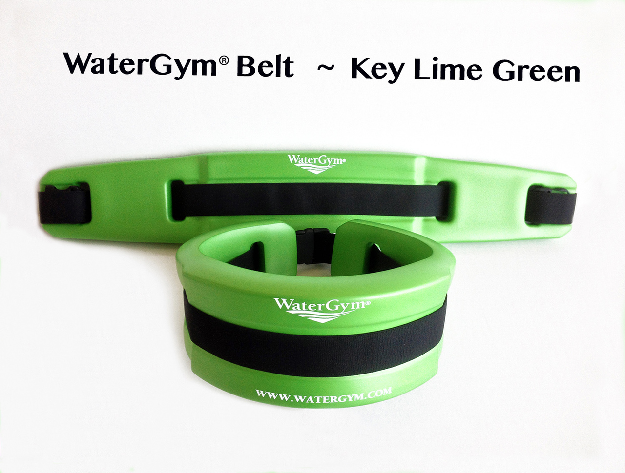 WaterGym® Water Float Belt- KEY LIME GREEN! Size Medium-Large