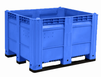 MACX Ace Solid Bulk Container - Blue (New - BC)