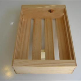 110 New Large Wood Gift Crates