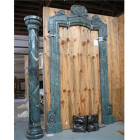 Door Surrounding with 2 Columns