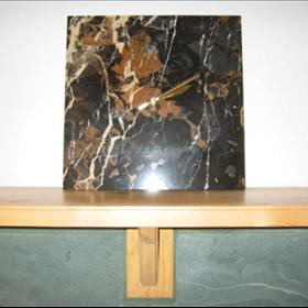 Natural Stone Wall Clocks - Marble/Large