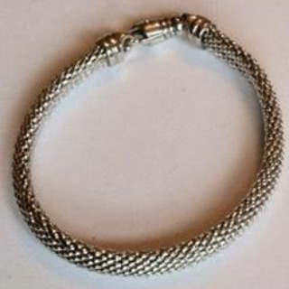 Love Intertwined Silver Bracelet