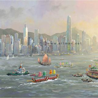 "Alexander Chen ""Hong Kong Evening"" Limited Edition"