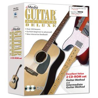 eMedia Guitar Method Deluxe (2 CD-ROM Set)