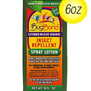 BugBand Insect Repellent Pump Spray