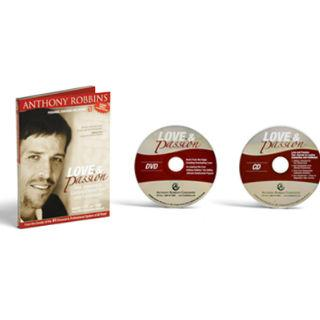 Anthony Robbins Love and Passion DVD Size