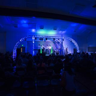 Uplighting for a talent show
