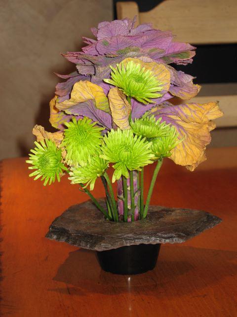 Bizx One Case Of 12 Small Natural Rock Ikebana Flower